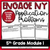5th Grade Engage NY Math Module 1 - Application Problem Workbook