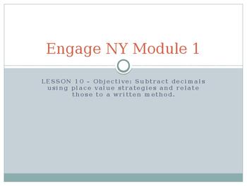 5th Grade Engage NY Math Module 1 Lesson 10