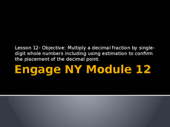 5th Grade Engage NY Math Module 1 Lesson 12