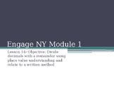 5th Grade Engage NY Math Module 1 Lesson 14