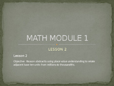 5th Grade Engage NY Math Module 1 Lesson 2