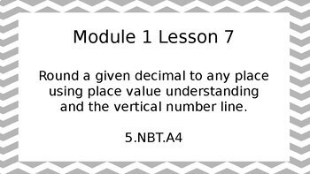 5th Grade Engage NY Math Module 1 Topic C PowerPoint