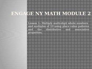 5th Grade Engage NY Math Module 2 Lesson 1