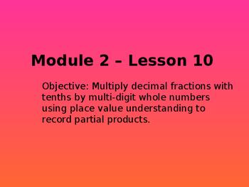 5th Grade Engage NY Math Module 2 Lesson 10