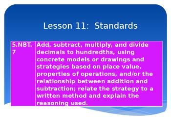 5th Grade Engage NY Math Module 2 Lesson 11