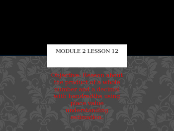 5th Grade Engage NY Math Module 2 Lesson 12