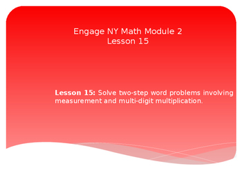 5th Grade Engage NY Math Module 2 Lesson 15