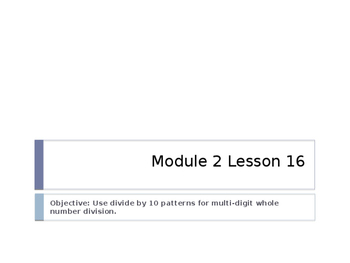 5th Grade Engage NY Math Module 2 Lesson 16