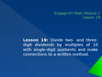 5th Grade Engage NY Math Module 2 Lesson 19