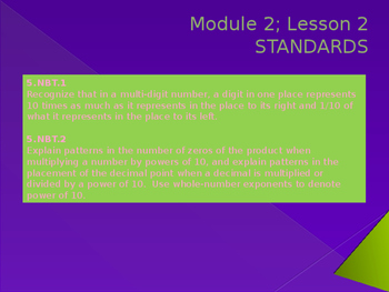 5th Grade Engage NY Math Module 2 Lesson 2