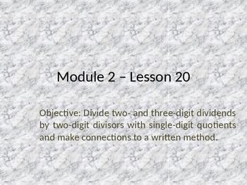 5th Grade Engage NY Math Module 2 Lesson 20