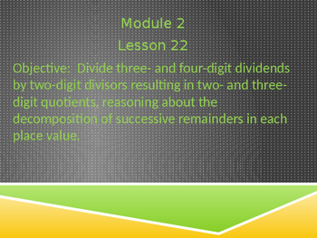 5th Grade Engage NY Math Module 2 Lesson 22