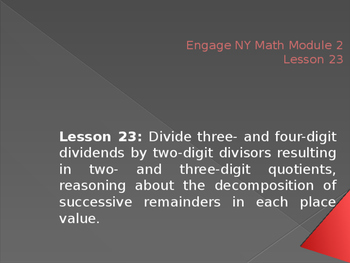 5th Grade Engage NY Math Module 2 Lesson 23