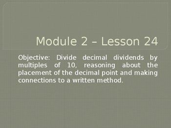 5th Grade Engage NY Math Module 2 Lesson 24