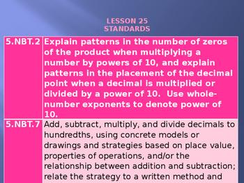 5th Grade Engage NY Math Module 2 Lesson 25