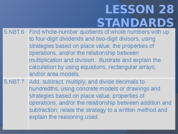 5th Grade Engage NY Math Module 2 Lesson 28