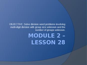 5th Grade Engage NY Math Module 2 Lesson 28