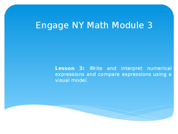 5th Grade Engage NY Math Module 2 Lesson 3