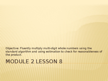 5th Grade Engage NY Math Module 2 Lesson 8