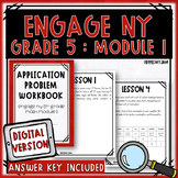 5th Grade Engage NY Module 1 Application Problem Workbook