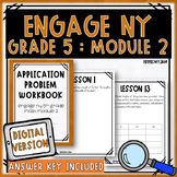 Engage NY Math Module 2 Application Problem Workbook :: Digital Version Included