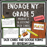 5th Grade Engage NY Module 3 Application Problem Task Cards