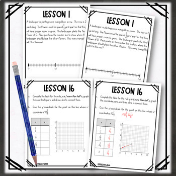 5th Grade Engage NY Module 6 Application Problem Workbook