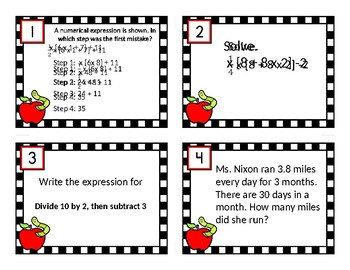 5th Grade Engage New York/Duval Math Module 4 review