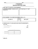 5th Grade EngageNY/Eureka Math Module 2 Topic B Quiz/Review
