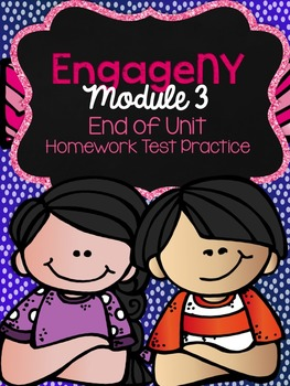 5th Grade EngageNY/Eureka Math-Mid-Module 3 Test Practice with Parent Info