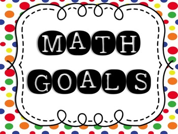 "5th Grade EngageNY/Eureka Math - Module 2 Learning Goals - ""I Can"" Statements"