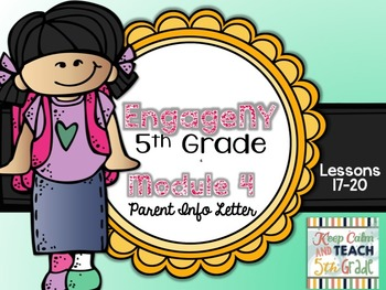 5th Grade EngageNY/Eureka Math - Module 4 - Lessons 17-20 Parent Info Sheet