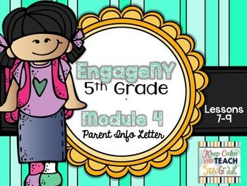 5th Grade EngageNY/Eureka Math - Module 4 - Lessons 7-9 Parent Info Sheet