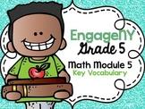 5th Grade EngageNY/Eureka Math - Module 5 Key Vocabulary Definition Posters