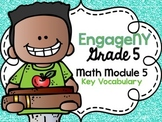 5th Grade EngageNY/Eureka Math - Module 5 Key Vocabulary D