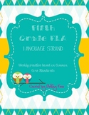5th Grade English Language Arts- Language CCSS Weekly Practice
