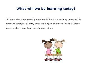 5th Grade Envision Lesson 1-1