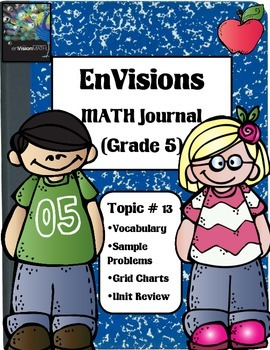 Envisions Math Topic 13 (5th Grade)