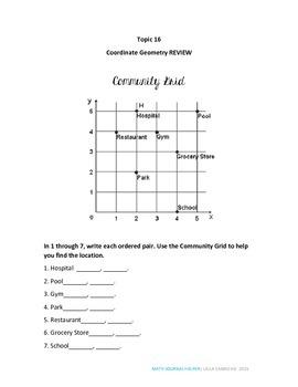 Envision Math Topic 16 (5th Grade)