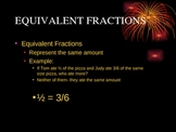 5th Grade Equivalent Fractions