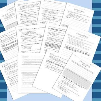 5th Grade Esperanza Rising Florida Standards Novel Study