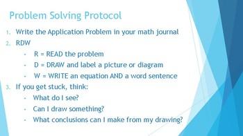 5th Grade Eureka Math / Engage NY Application Problems: Module 3
