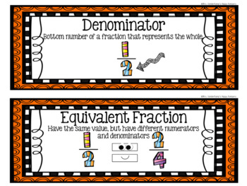 5th Grade Eureka Math EngageNY Word Wall: Module 3
