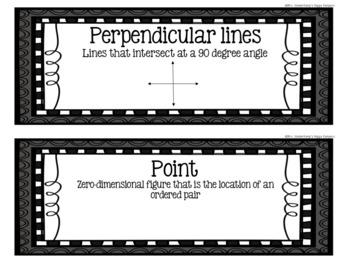 5th Grade Eureka Math EngageNY Word Wall: Module 6