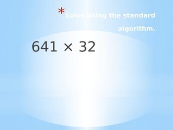 5th Grade Eureka Math Lesson Module 2 Lesson 6 & 7 Multiplication