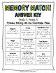 5th Grade Eureka Math- Memory Match Math Center, Module 6 Vocabulary