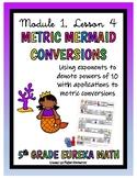 5th Grade Eureka Math- Metric Conversions Board Game, Module 1, Lesson 4