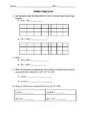 5th Grade Eureka Math Module 1 Topic A Quiz