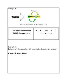5th Grade Eureka Math Module 2 interactive Notebook