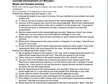 5th Grade Eureka Math Module Four Lesson Plans